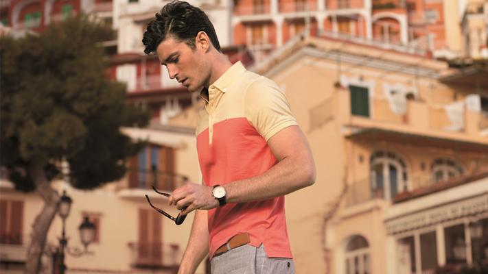 polo t-shirt styling