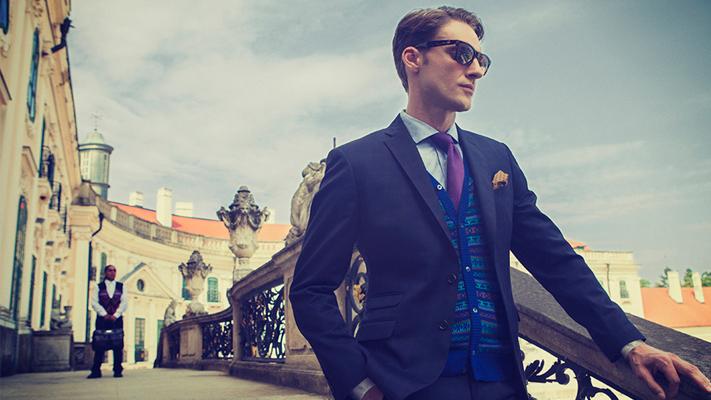 Art inspired fashion for men