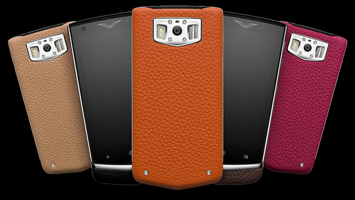 The new age of luxury handsets Vertu Constellation