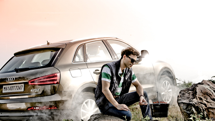Barbecue, Beer and Audi Q3