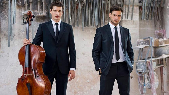 2cellos musical duo song covers