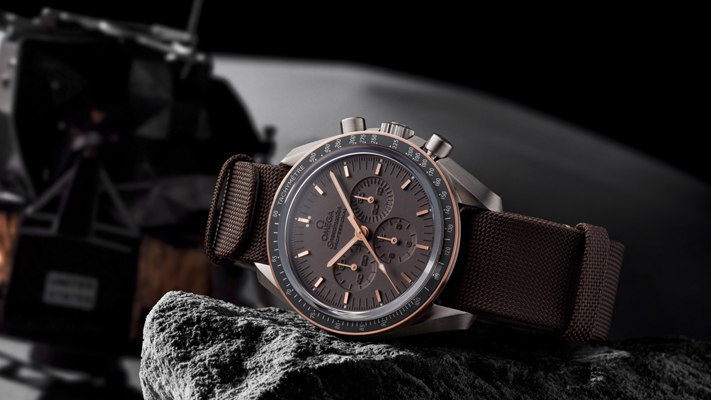 Timepieces that explore Omega Speedmaster professional apollo