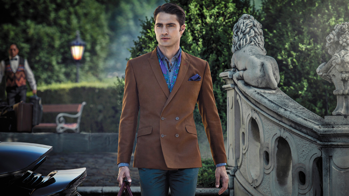 Wardrobe essentials double breasted suit