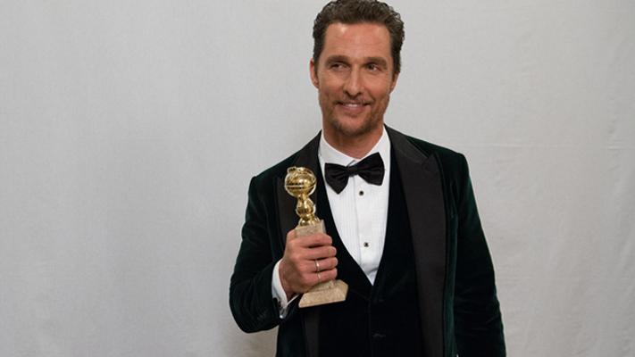 Best dressed men at the Golden Globes-Matthew Mcconaughey