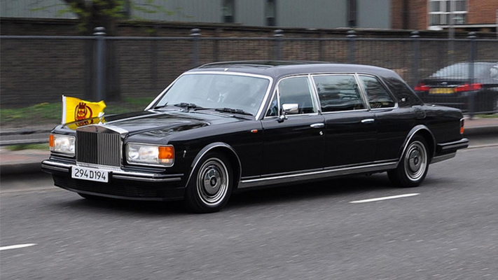 Sultan of Brunei rolls royce silver spur limo