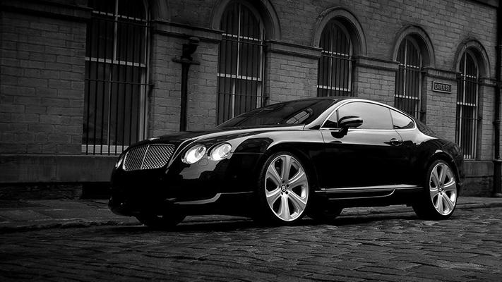 Exotic rides Bentley Continental GT