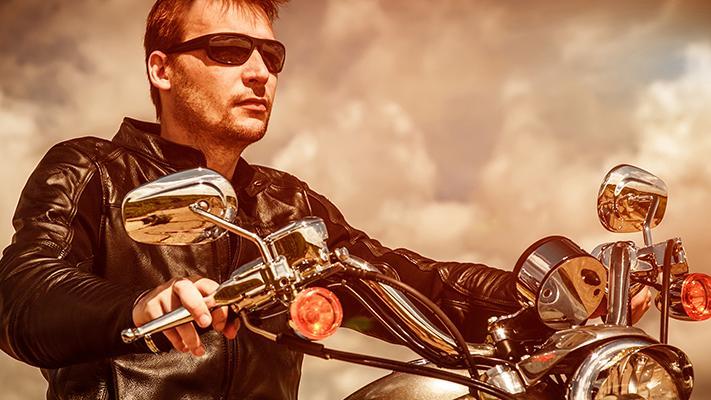 Leather biker jackets - Summer fashion accessories for men