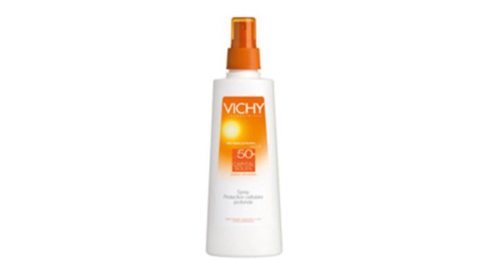 Six summer travel essentials Vichy capital Soleil Spray