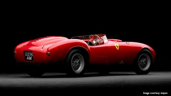 Classic 1954 model ferrari sold for fraction over US$16 million