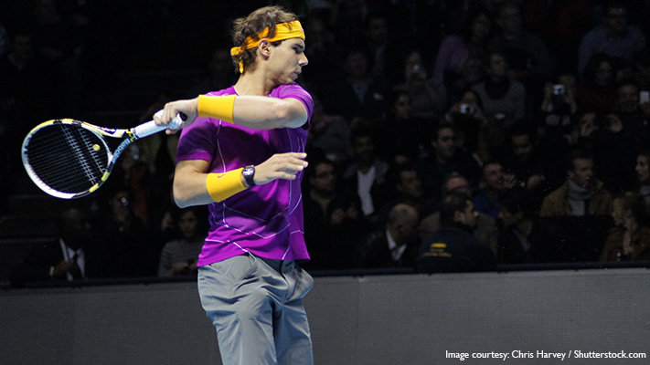 Rafael nadal perfect coloured co ordinated outfit