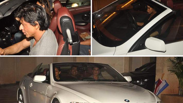 Shah Rukh Khan cars of bollywood actors