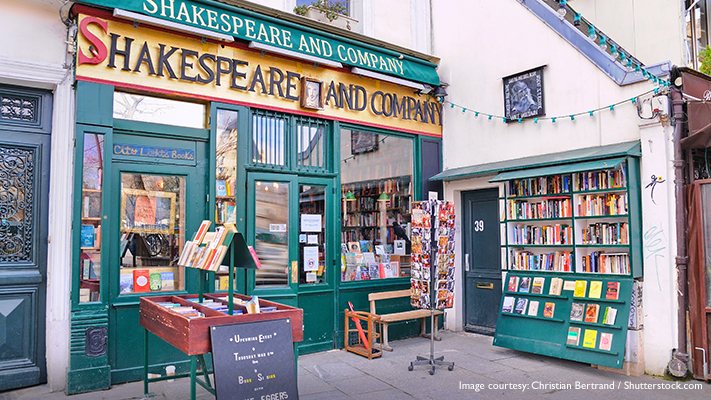 Shakespeare and company paradise for literature lovers