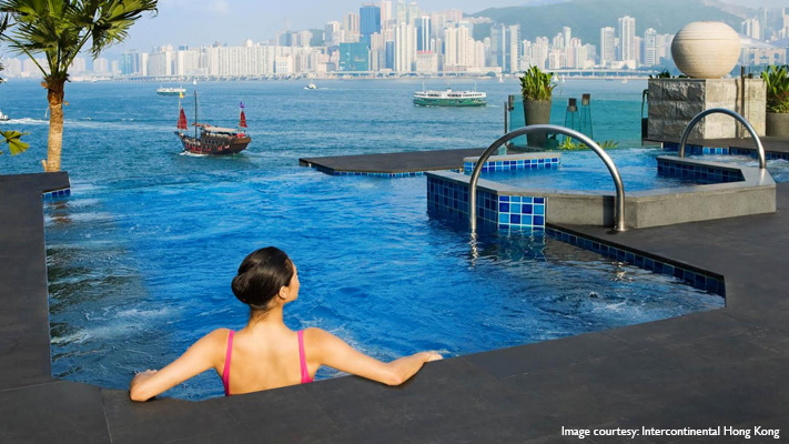 The Finest Infinity Pool Overlooking The Hongkong's Skyline