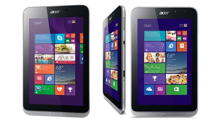 Acer Iconia w4 features