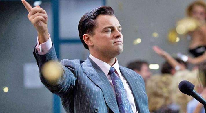 Leonardo DiCaprio Wolf of Wall Street stills
