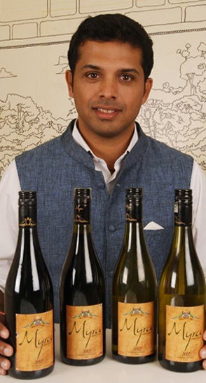 Ajay Shetty the young wine entrepreneur