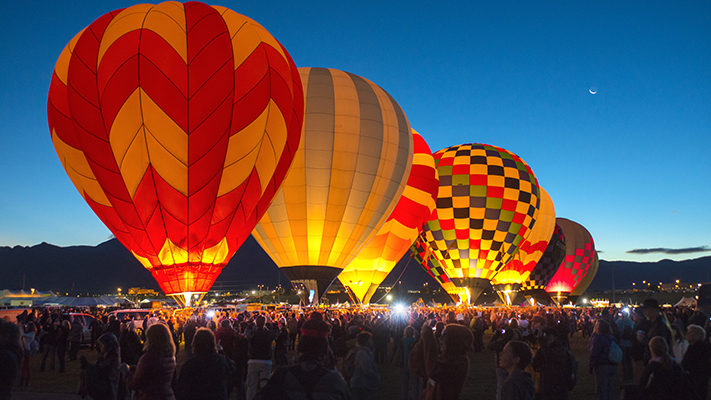 albuquerque new mexico best air ballooning locations