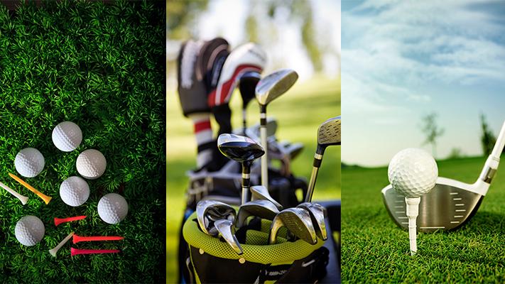 amazing evolution of golf equipments