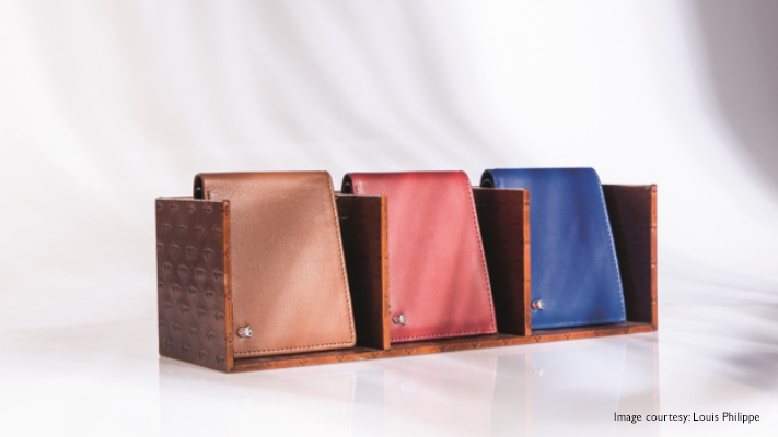 amazing mens wallet with pastel shades
