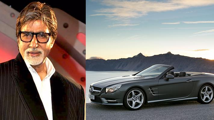 Amitabh Bachchan mercedes indian celebrity cars