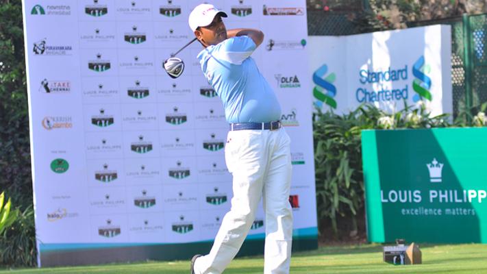 Golfer Anirban Lahiri at The Louis Philippe Cup