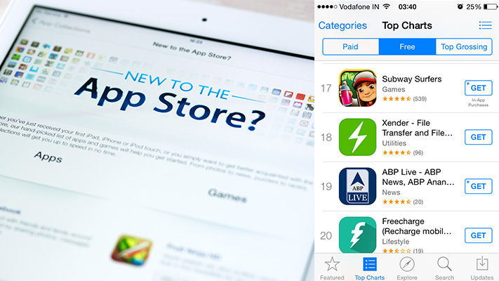 apple app store get free button