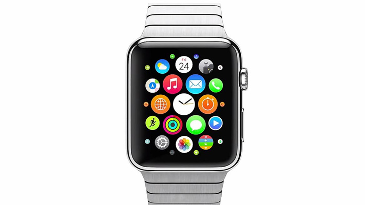 apples iwatch smartwatch screen view
