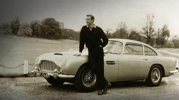 aston martin db5 james bond cars in movies