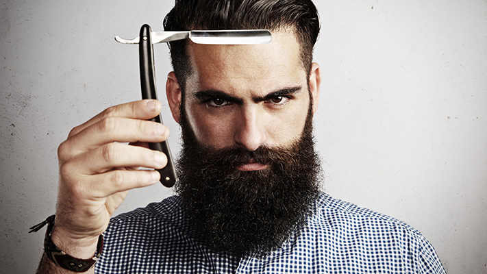 avoid trimmer to grow healthy beard