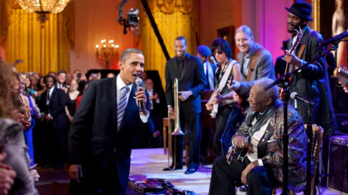 b b king phenomenol white house performance