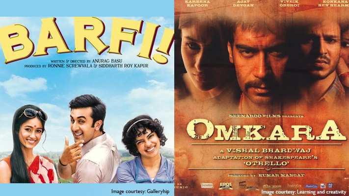 barfi and omkara bollywood films