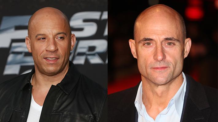 Bald men intimidating
