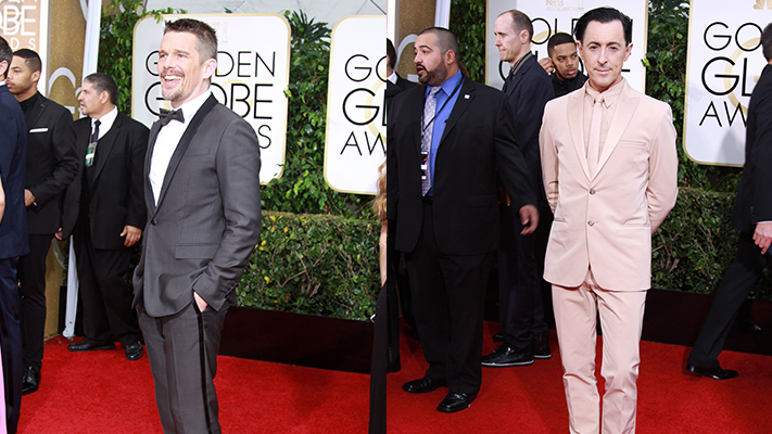 best dressed men at golden globes 2015