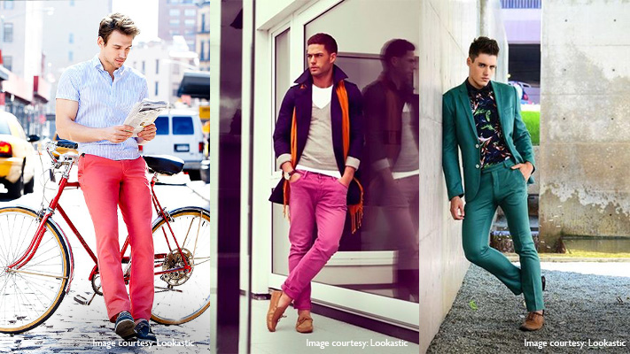 best way to sport colour blocking