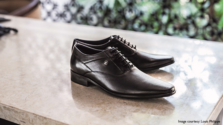 black leather shoes perfect contemporary look
