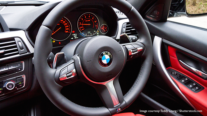 bmw 3 series comes with variable sports steering