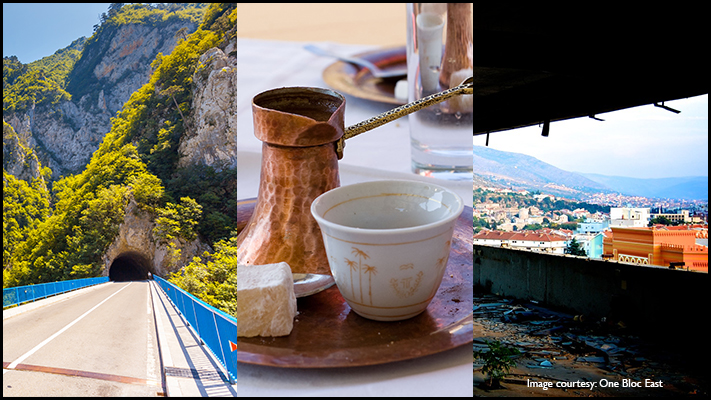 bosnia and herzegovina amazing road trip with traditional coffee