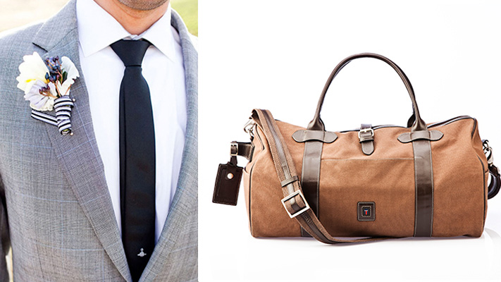 Mens fashion style guide: Boutonnaire, Duffel bag
