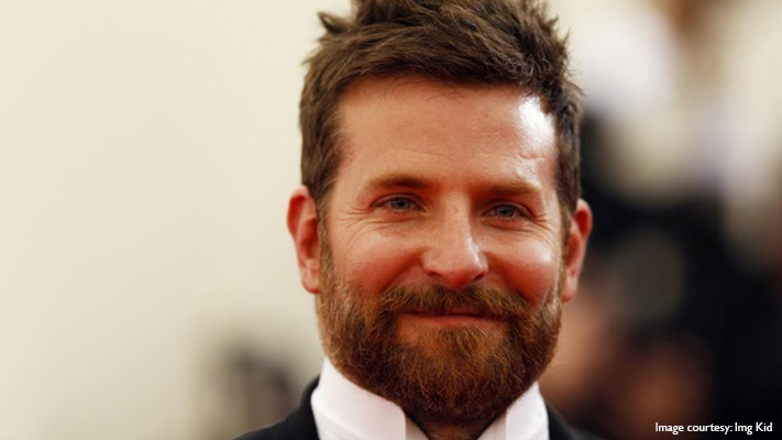 bradley cooper with his stylish beard