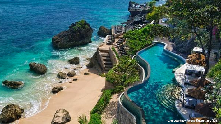 breathtaking view of Ocean Beach Pool at Bali