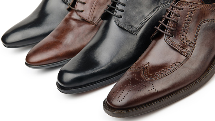 brogues sharply suited look