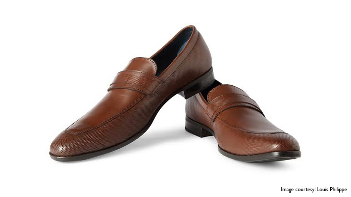 brown formal loafers wear to office