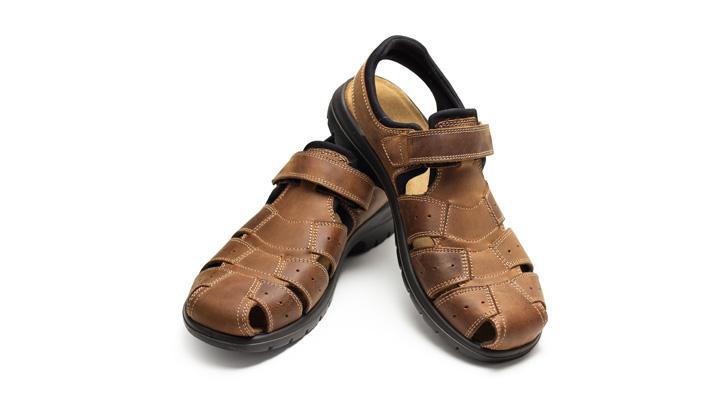 brown sandals comfortable footwear