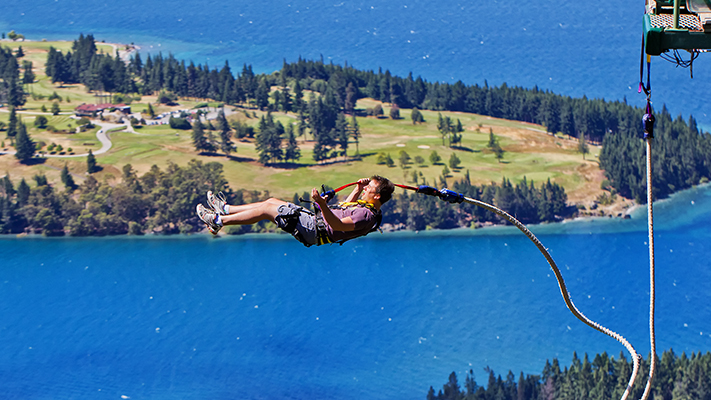 bungee jumping adventure sports in new zealand
