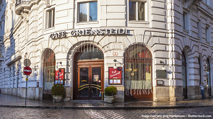 cafe griensteidl best and oldest coffee house in vienna