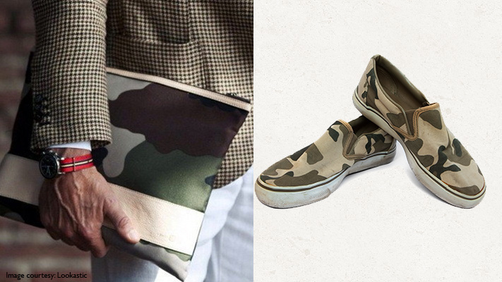 camouflage print accessories
