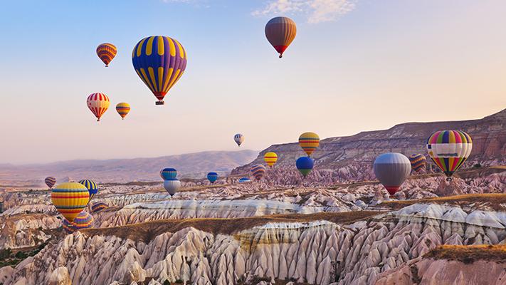 cappadocia turkey best hot air ballooning destinations