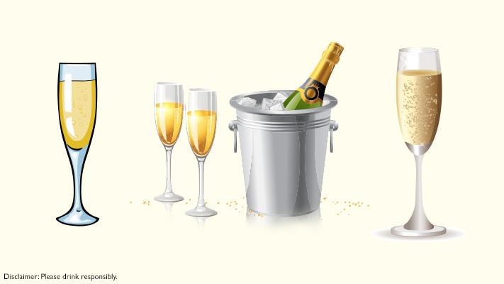 champagne flute best glasses to serve champagne