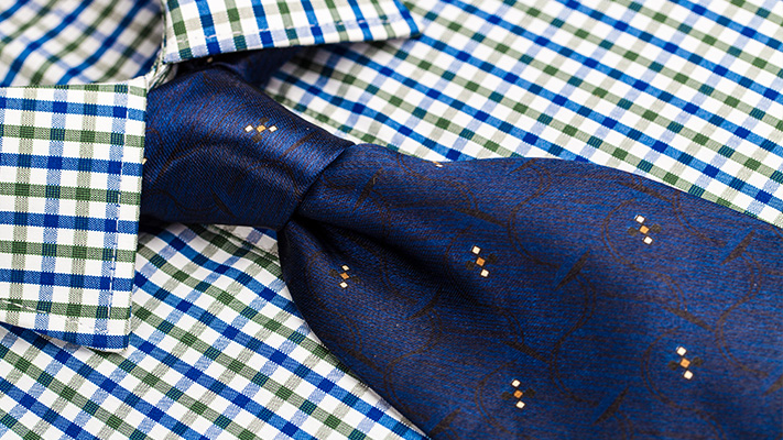 checked pattern shirt for men