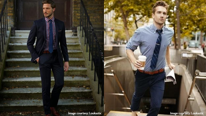 checked shirt and tie mens fashion guide